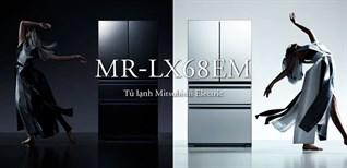 Mitsubishi Electric ra mắt dòng tủ lạnh cao cấp 4 cửa, mặt gương sang trọng
