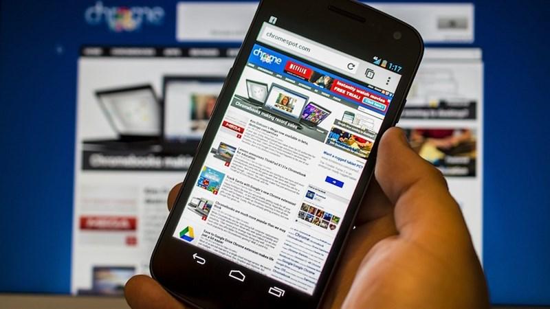 Cách lướt web trên Điện thoại mượt mà hơn, Chrome ít bị lag