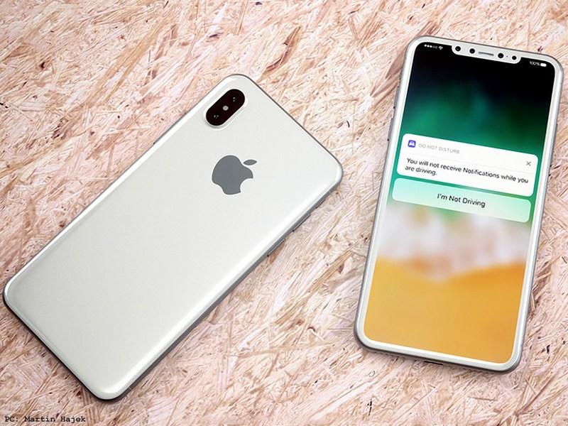 iPhone 2018 có notch nhỏ hơn, cảm biến vân tay dưới màn hình
