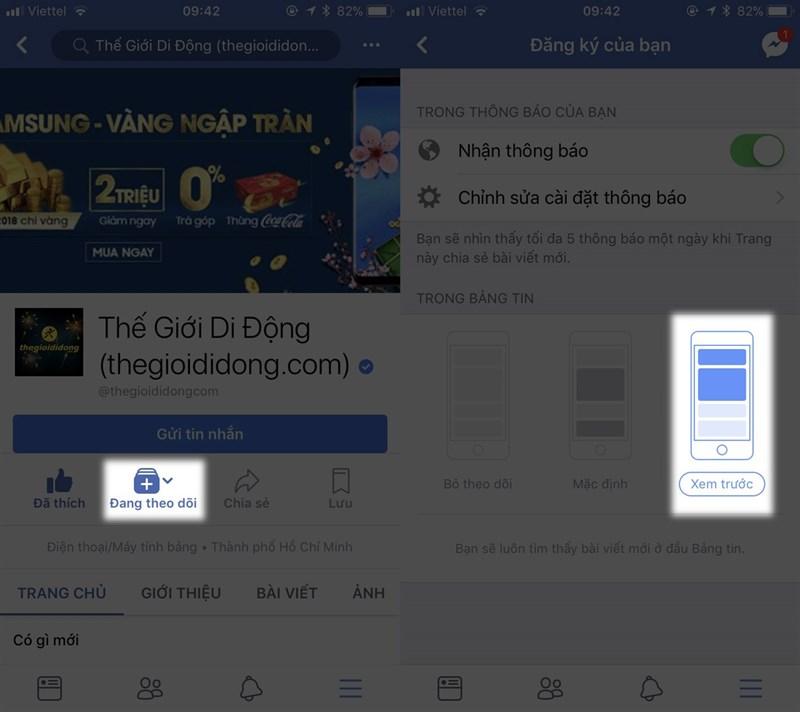 Cách ưu tiên bài viết xuất hiện trên new feed của Facebook