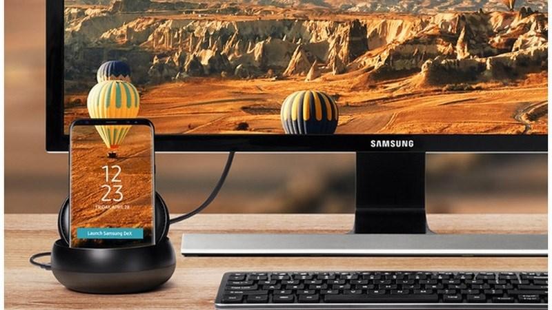 Rò rỉ Samsung Dex Pad cùng với siêu phẩm Galaxy S9