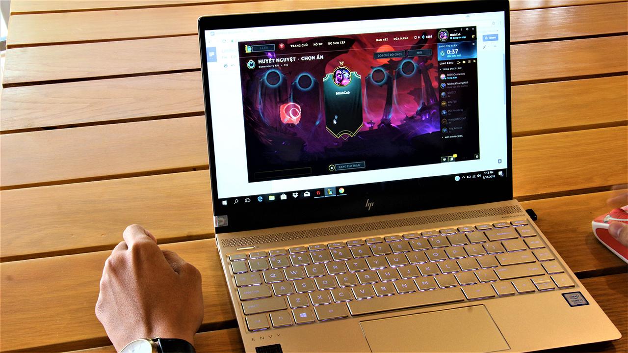 Đánh giá Laptop HP Envy 13 ad138TU: Mạnh mẽ cùng thiết kế tối giản, thích hợp nhiều đối tượng - ảnh 15