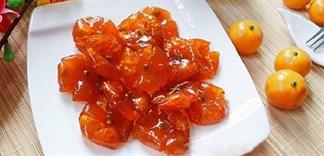 Cách làm mứt tắc chua chua ngọt ngọt thơm ngon khó cưỡng