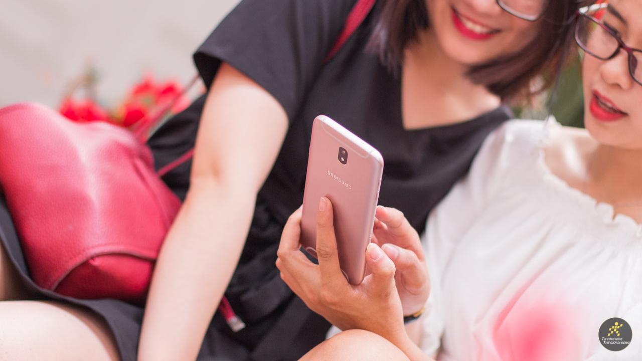 Galaxy J7 Pro hồng