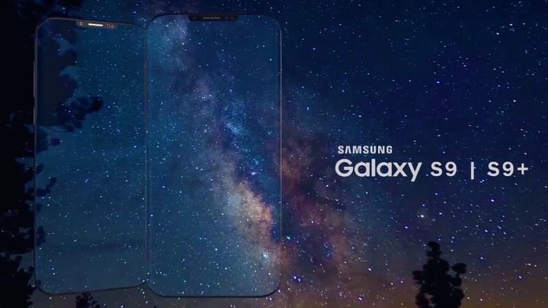 Galaxy S9 Plus xuất hiện trong banner quảng cáo Chúc mừng năm mới - ảnh 1