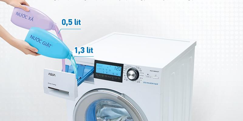 Sử dụng bột giặt chuyên dụng