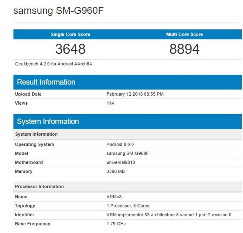 Phiên bản Galaxy S9 dùng chip Exynos 9180 lộ điểm hiệu năng ấn tượng - ảnh 3