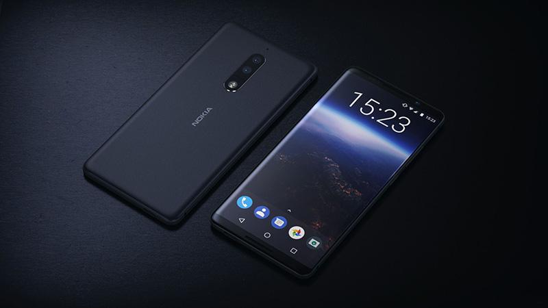 Nokia 9 với màn hình OLED cong tràn cạnh bị phát hiện ngoài đời thực - ảnh 1