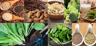 Thực phẩm ăn chay có nhiều chất sắt hơn thịt