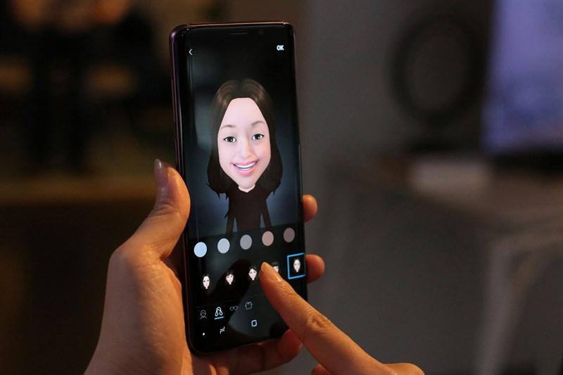 Nhận diện khuôn mặt trên điện thoại Samsung Galaxy S9