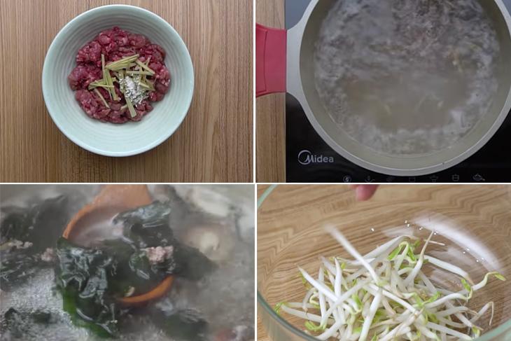 Cách nấu canh giải rượu trong những ngày Tết