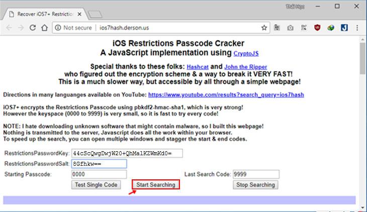 Cách lấy lại mật khẩu giới hạn cho iPhone mới nhất, dễ thực