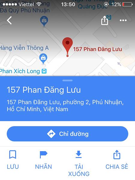 Cách tải bản đồ trên Google Maps để dùng khi không có 3G/4G