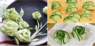 3 cách tỉa hoa từ dưa leo cực đơn giản