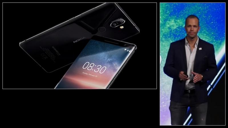 Nokia 8 Sirocco viền siêu mỏng, Snapdragon 845, 6 GB RAM trình làng