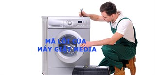 Mã lỗi của máy giặt Midea