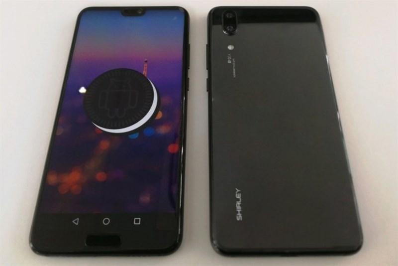 Huawei P20 được Evan Blass đăng trên Twitter