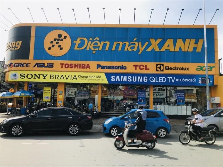 Siêu thị điện máy xanh tại 21 Trần Não , Phường Bình An , Quận 2 , TP.HCM (Cách công viên Dạ Cầu Sài Gòn 30m)