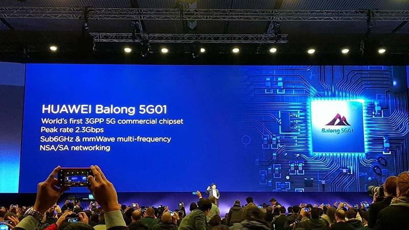 Chip 5G-Huawei