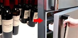 Có nên để rượu vang trong tủ lạnh không?