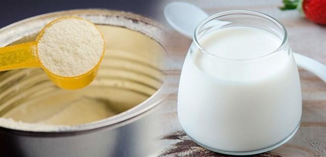 Cách làm sữa chua từ sữa công thức