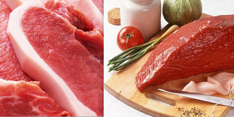 """thịt heo và thịt bò kết hợp chung, chúng lại """"kỵ"""" nhau"""