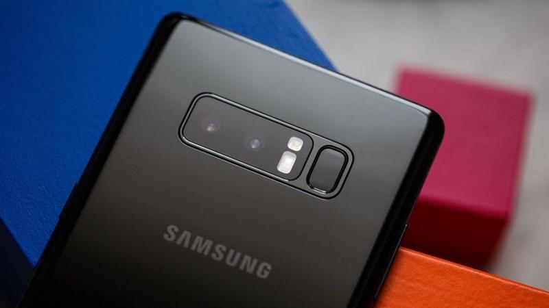 Note 8 camera kép