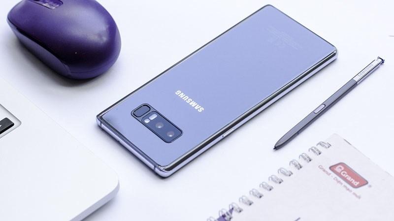 Galaxy Note 8 vẫn là chiếc smartphone đáng mua nhất tính tới (T3/2018)