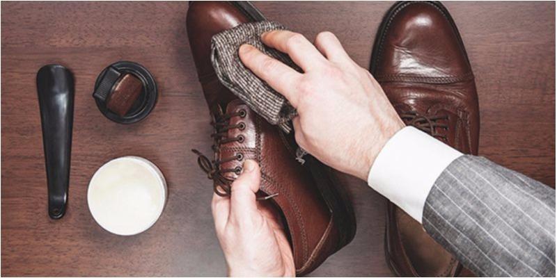 Giữ sạch giày