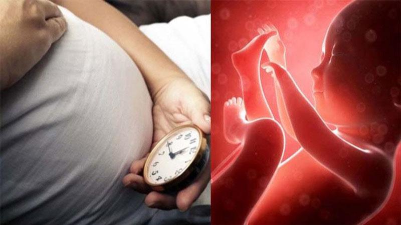 Cách đếm cử động thai