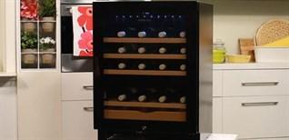 Cúp điện có xài được tủ rượu vang không?