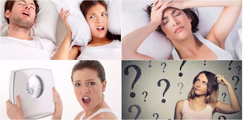 Triệu chứng của Hội chứng ngừng thở khi ngủ