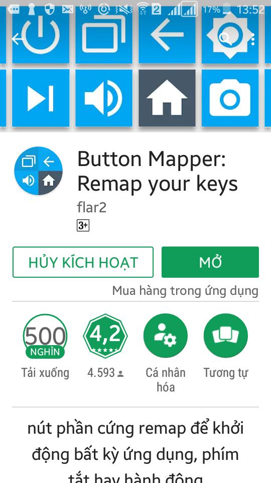 Cách biến nút Home trên Android thành