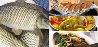 Mẹo vặt chế biến cá chép