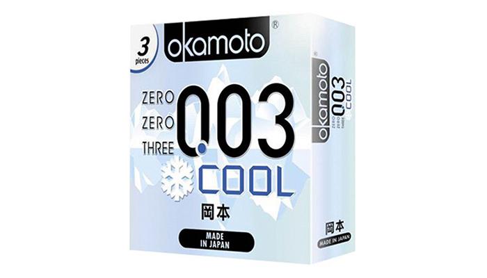 Các loại bao cao su Okamoto được chọn mua nhiều nhất hiện nay