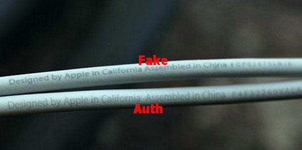 Cách phân biệt cáp usb iPhone chính hãng và hàng nhái