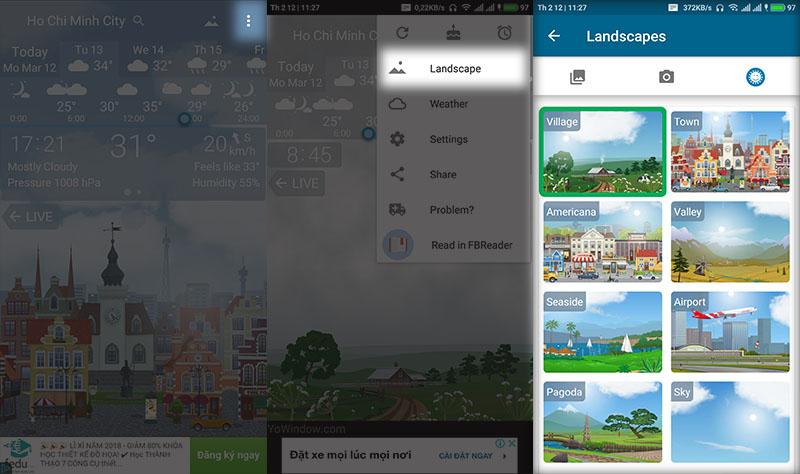 Cách tạo hình nền thay đổi theo thời tiết cực đẹp trên Android - ảnh 4