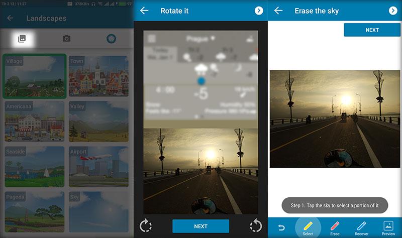 Cách tạo hình nền thay đổi theo thời tiết cực đẹp trên Android - ảnh 5
