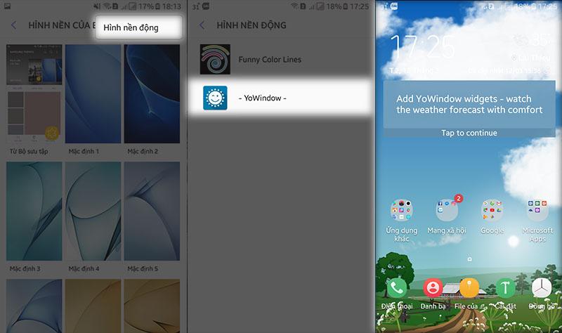 Cách tạo hình nền thay đổi theo thời tiết cực đẹp trên Android - ảnh 8
