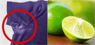 4 mẹo tẩy vết bẩn của xịt khử mùi trên nách áo