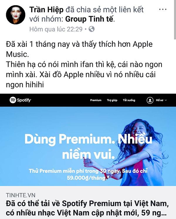 Tản mạn về Spotify và câu chuyện nghe nhạc bản quyền tại VN - ảnh 2