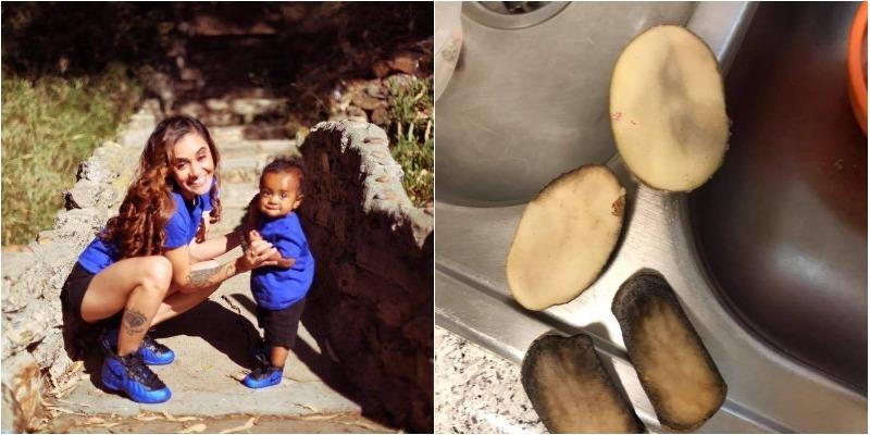 Câu chuyện khoai tây giải cảm của bà mẹ tại California
