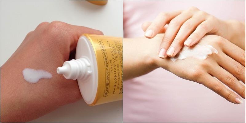 kem chống nắng an toàn cho da của mẹ và sức khỏe trẻ hơn so với chai xịt