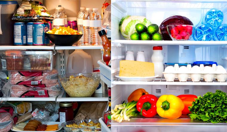 Làm thế nào để sắp xếp thực phẩm trong tủ lạnh hợp lý