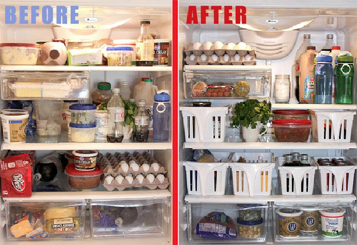 Làm thế nào để sắp xếp đồ trong tủ lạnh hợp lý ngày Tết