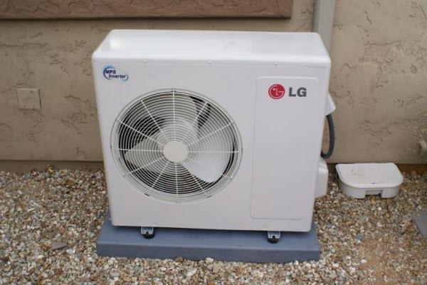 Cục nóng điều hòa ngưng hoạt động