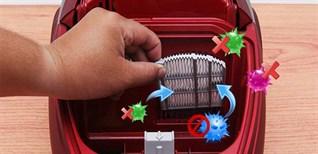 Cách vệ sinh và thời gian thay thế bộ lọc HEPA trên máy hút bụi