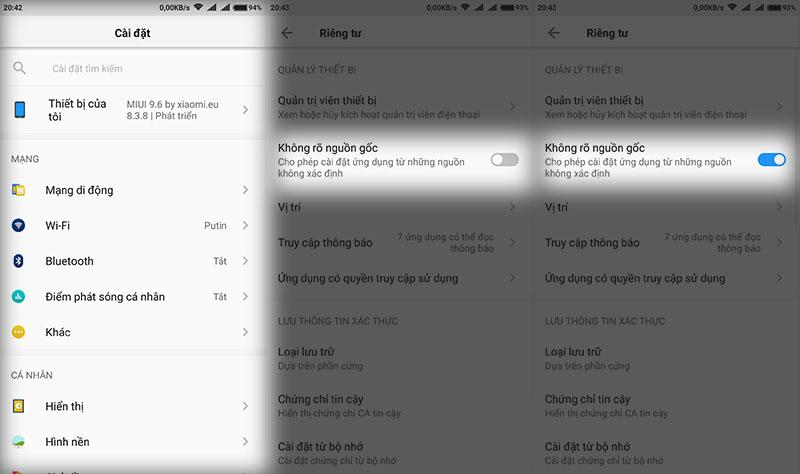 Hướng dẫn cài đặt file xapk trên thiết bị Android