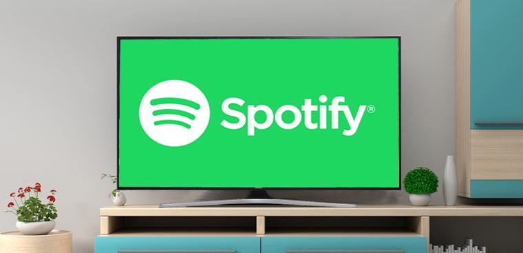 Cài đặt ứng dụng nghe nhạc Spotify trên smart tivi Samsung