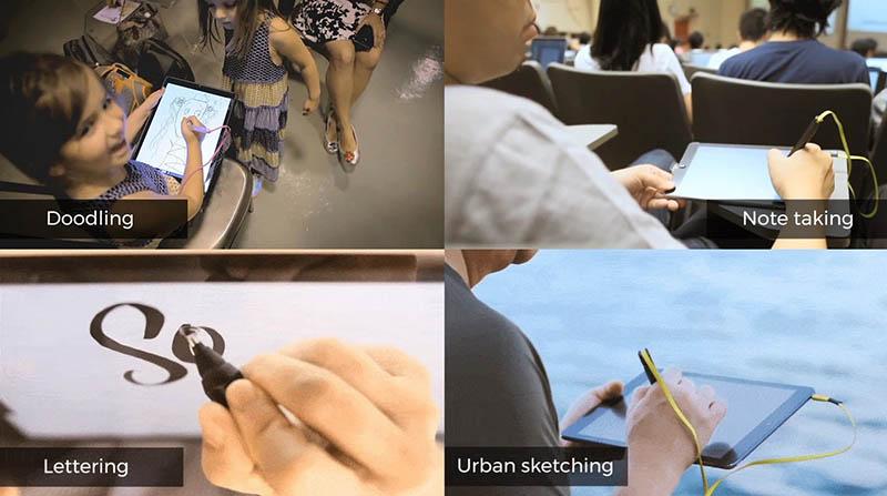 Sử dụng bút SonarPen